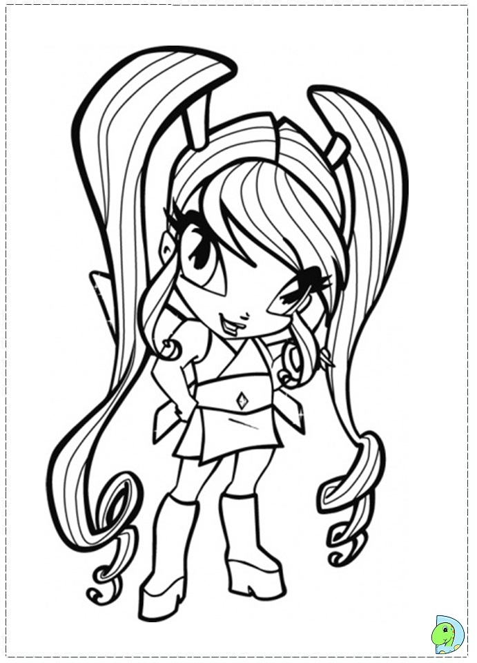 POPs Colouring Pages (page 2)