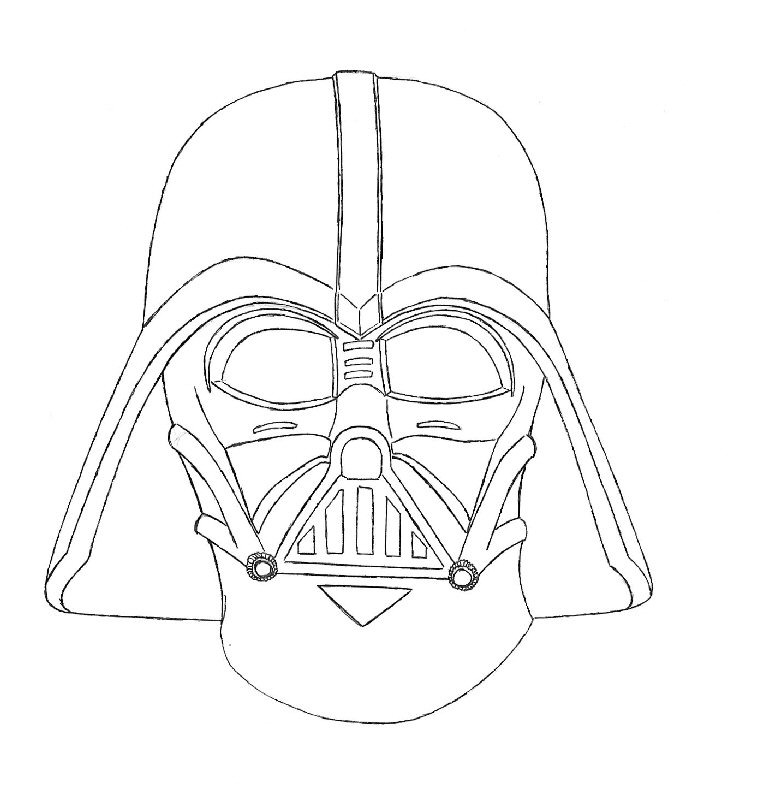 Darth Vader Coloring Pages To Print Az Coloring Pages Darth Vader Coloring Pages To Print