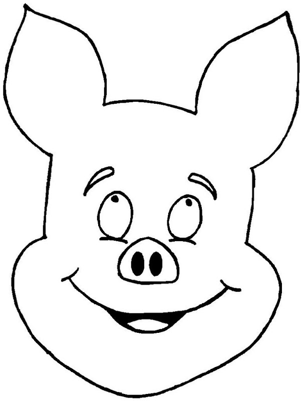 Pig Face Coloring Pig Face coloring pages are a