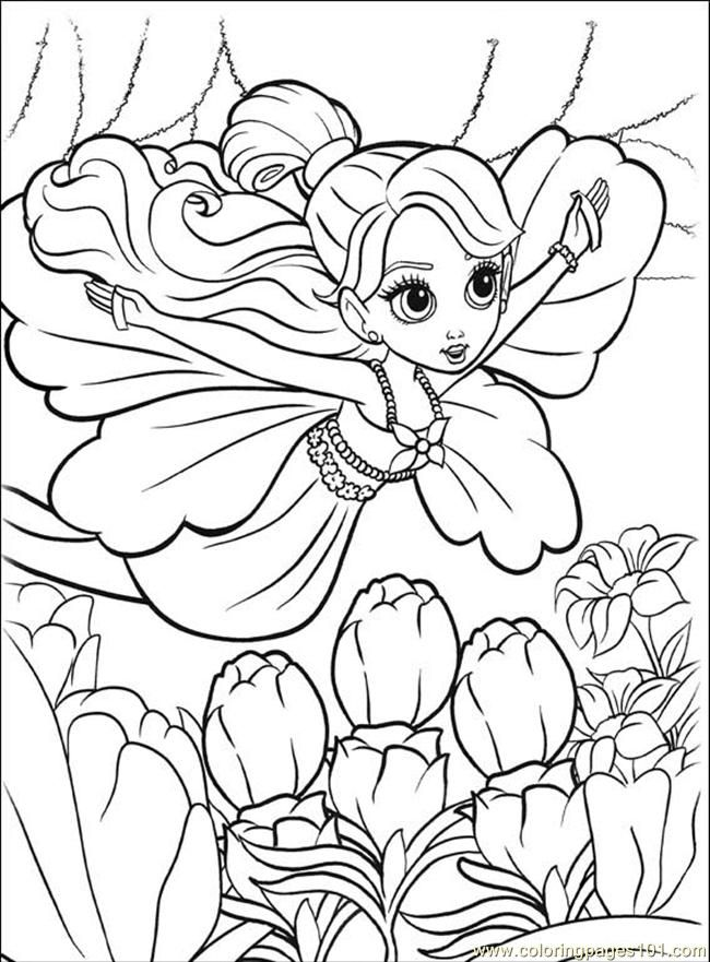 Thumbelina Coloring Pages Coloring Home