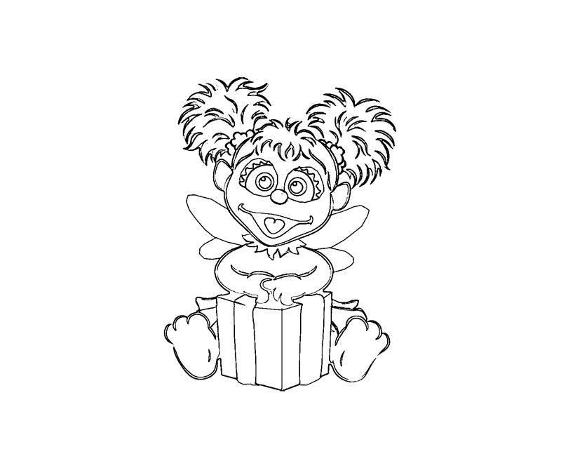 Abby Cadabby Coloring Pages Coloring Home