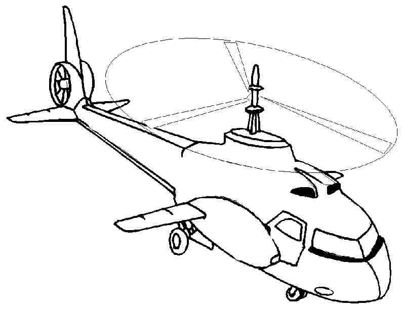 coloring pages helicopter - photo#22
