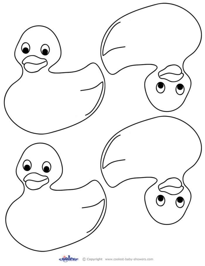 coloring pages ducks free - photo#43