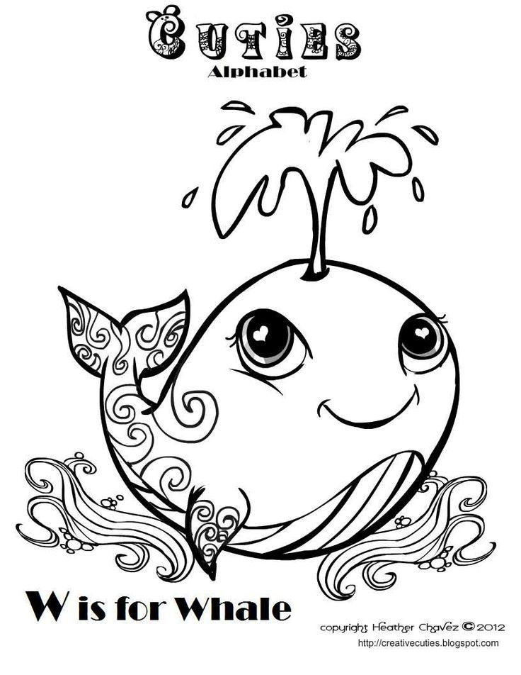 Whale Coloring page | Whales