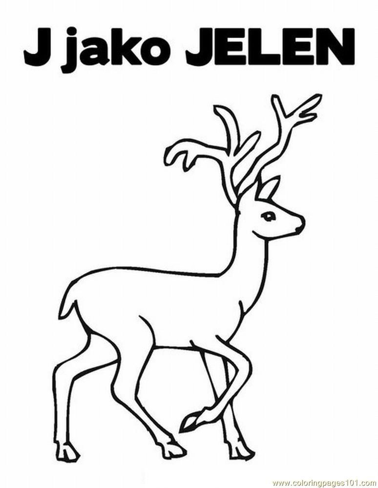 Whitetail Deer Coloring Pages