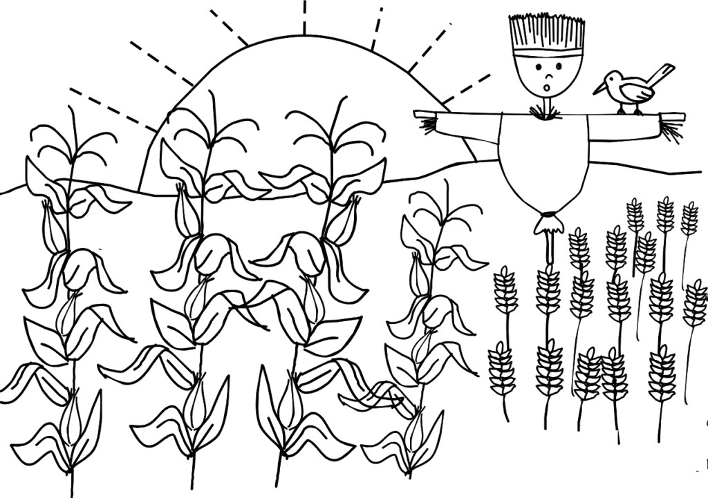 farm coloring pages for preschoolers - photo#27