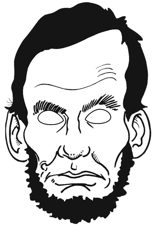 Abraham Lincoln Coloring Page - Coloring Home