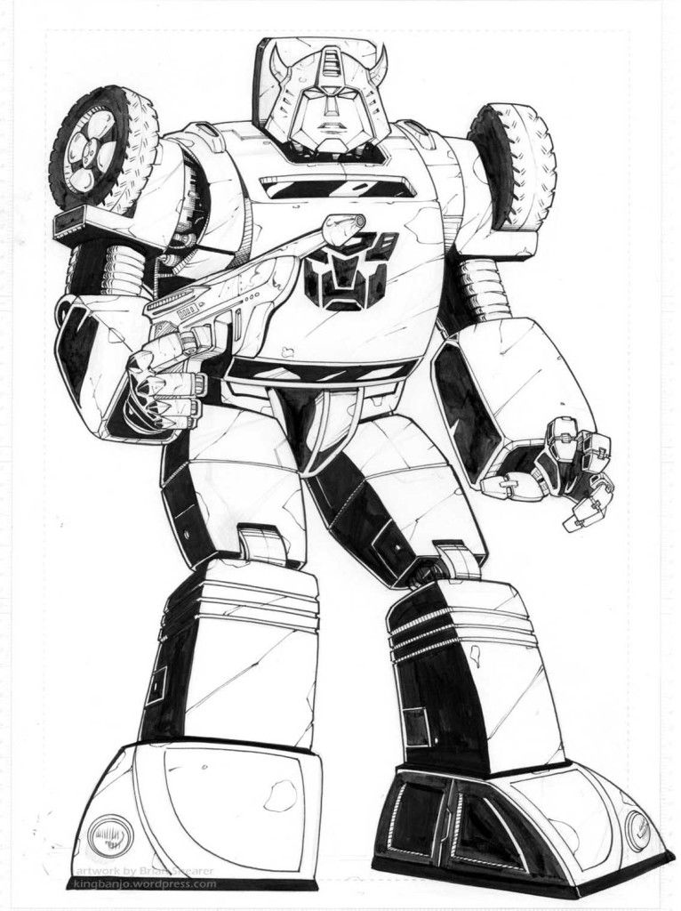 Bumble Bee Transformer Coloring Pages Coloring Home