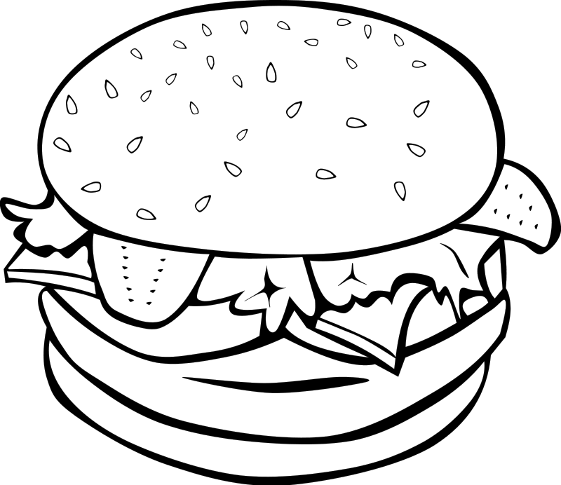 Coloring pages of pizza coloring home for Pizza coloring pages to print