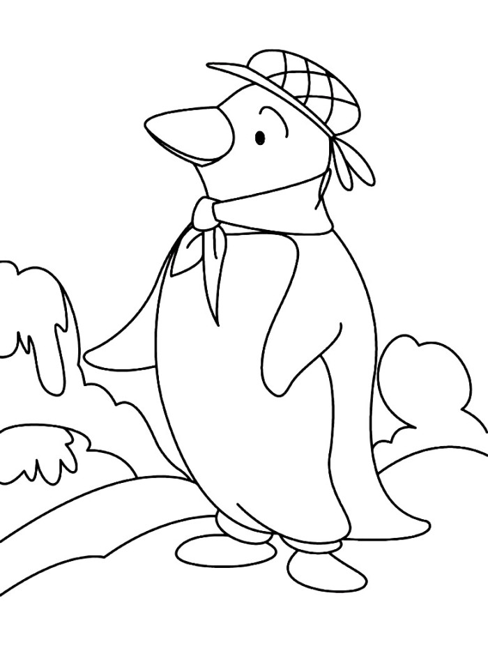 Tacky The Penguin Coloring Pages Az Coloring Pages Tacky The Penguin Coloring Pages
