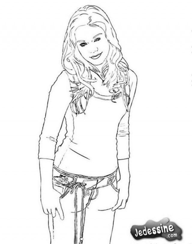 High School Musical Coloring Pages For Kids - Coloring Home