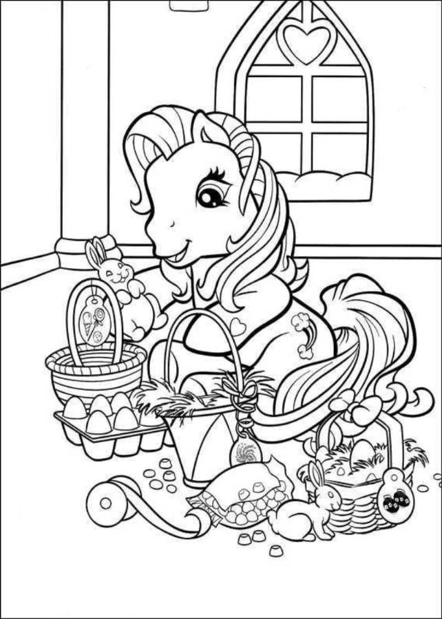 cute spring coloring pages | Cute Easter Coloring Pages - Coloring Home