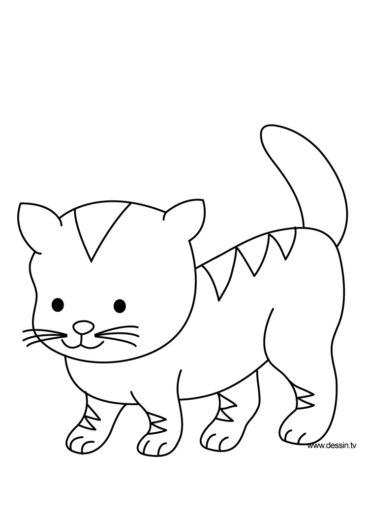 Coloring Pages To Print Kitten : Kitten coloring pages to print az