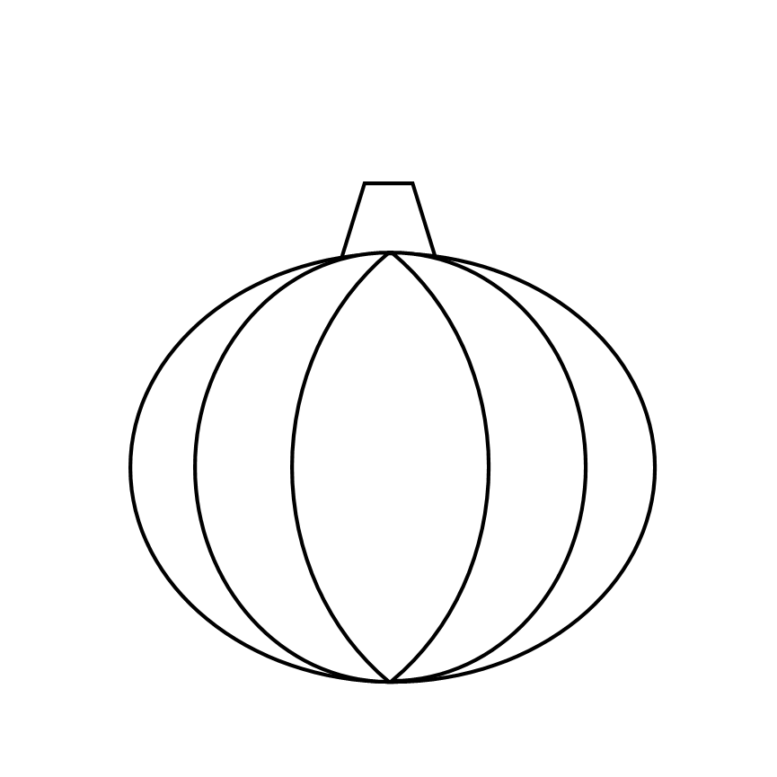Pumpkin Templates For Kids To Color Images & Pictures - Becuo