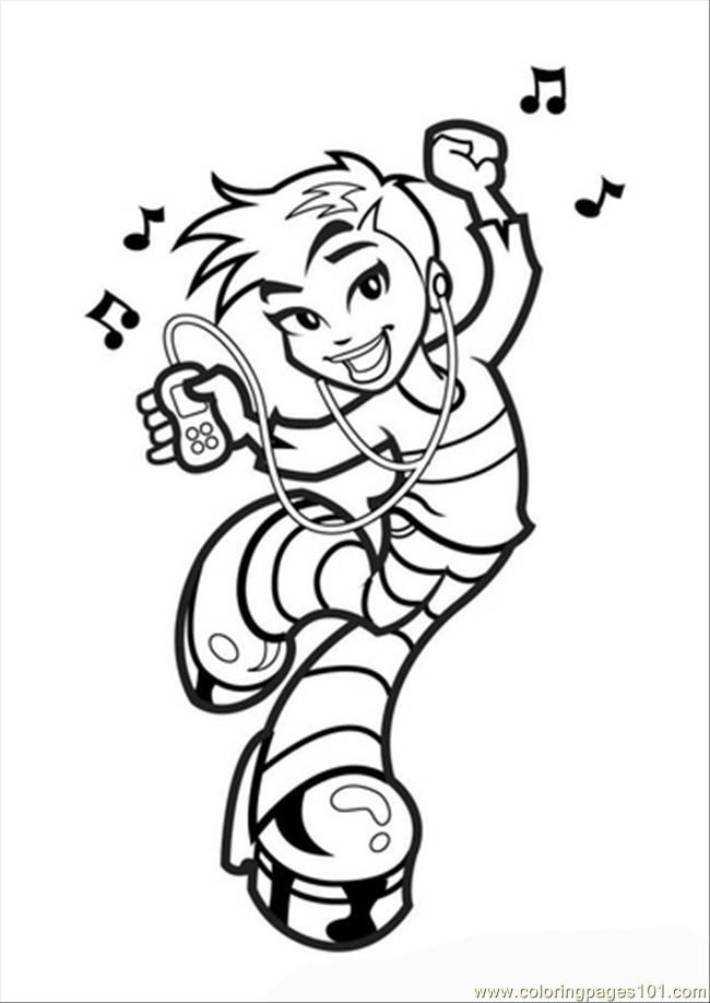 kids dancing coloring pages - photo#35