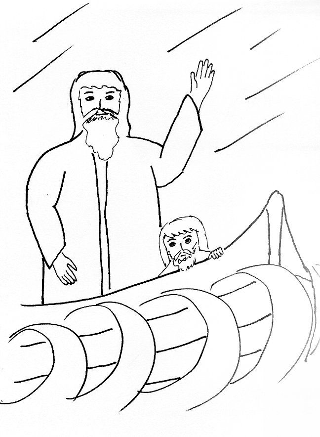 ocean storm coloring pages - photo#36