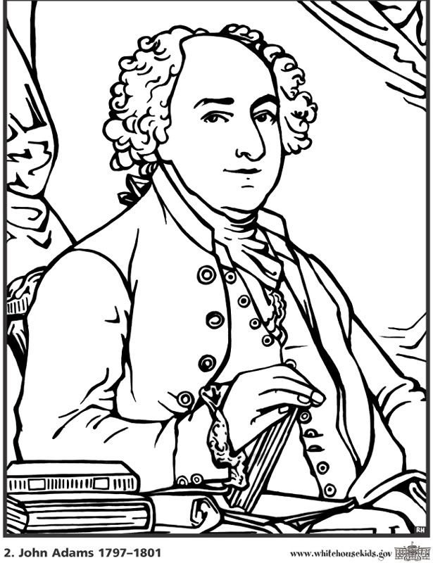 Ben Franklin Coloring Pages - Coloring Home