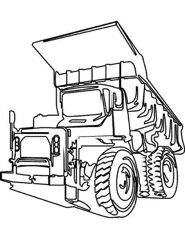 Truck coloring pages | color printing | coloring sheets | #7 Free