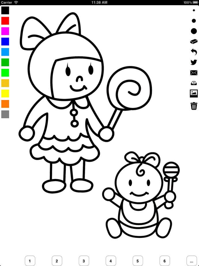 Photos To Coloring Pages App : Color book app coloring home