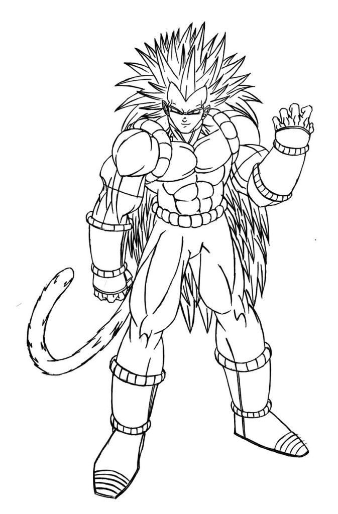 Goku printables az coloring pages for Goku coloring page