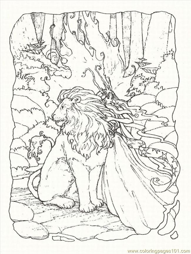 Fantasy Coloring Pages - Coloring Home