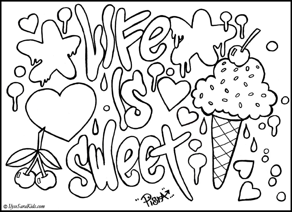 Coloring pages of your name az coloring pages for Names coloring pages