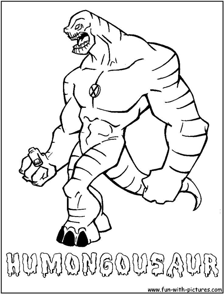 ben 10 coloring pages games - photo#16