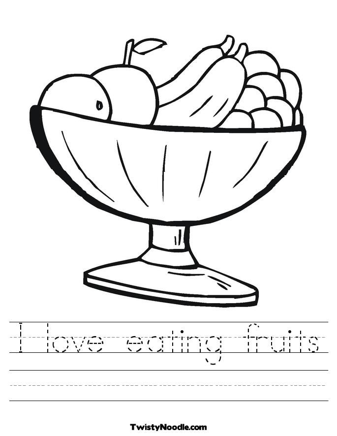 free food group coloring pages - photo#26