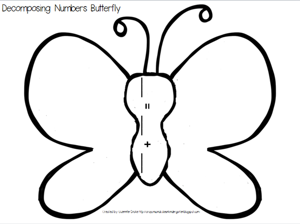 blank butterfly template - coloring home