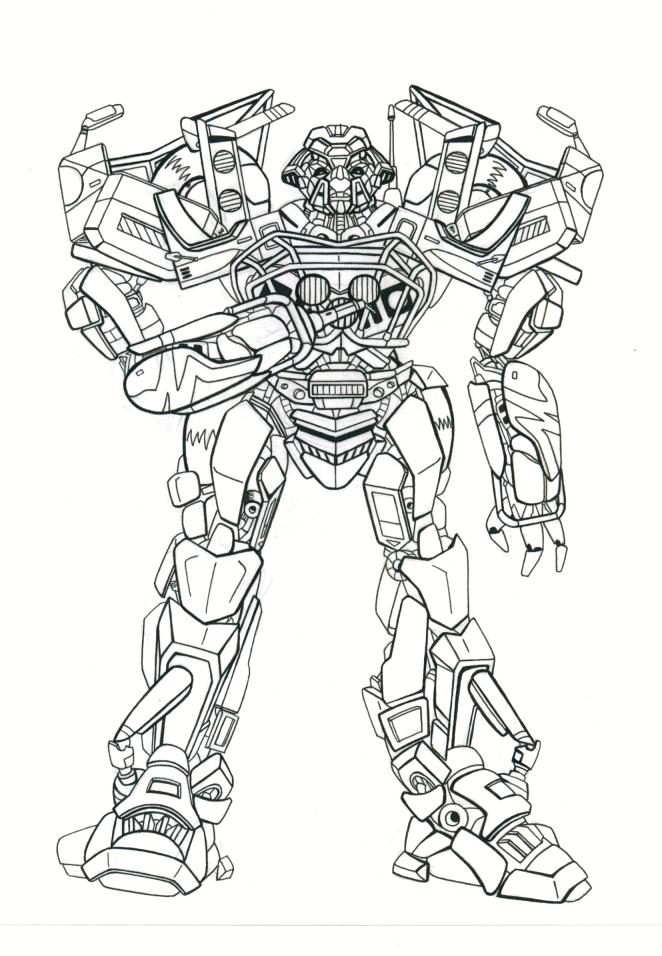 Ironhide coloring pages for Ironhide coloring pages
