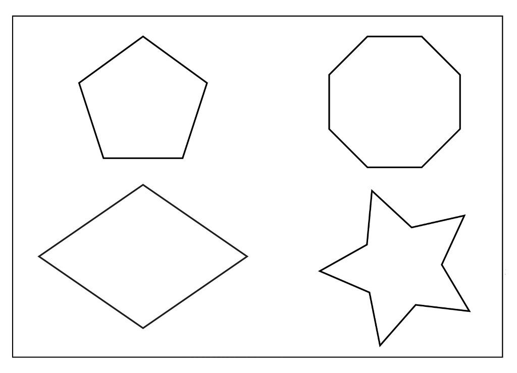 Geometry Coloring Pages - AZ Coloring Pages