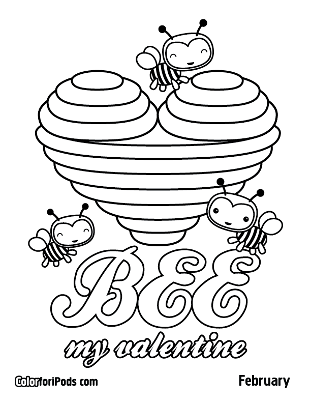 february coloring pages printables - photo#7