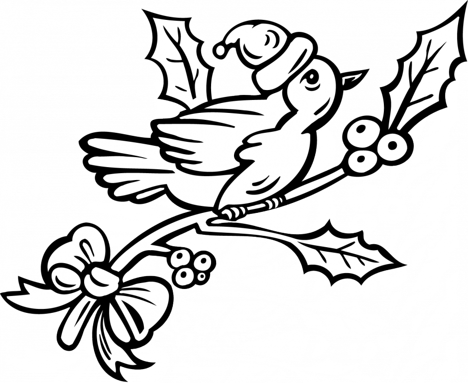 coloring pages robin tree - photo#31
