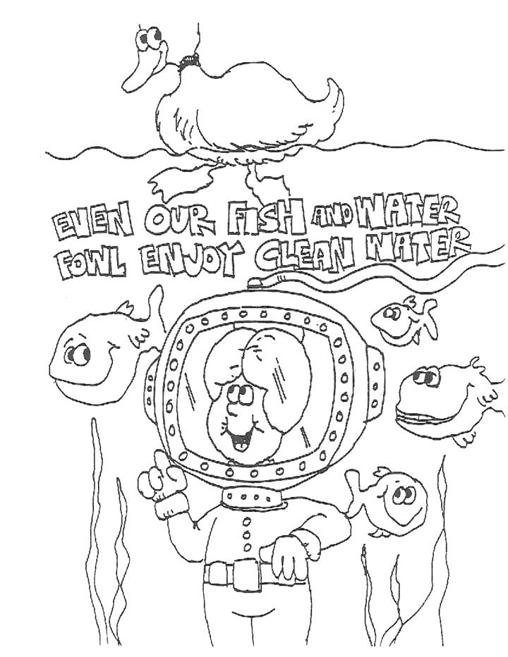 Water Conservation Coloring Pages Az Coloring Pages Water Coloring Page