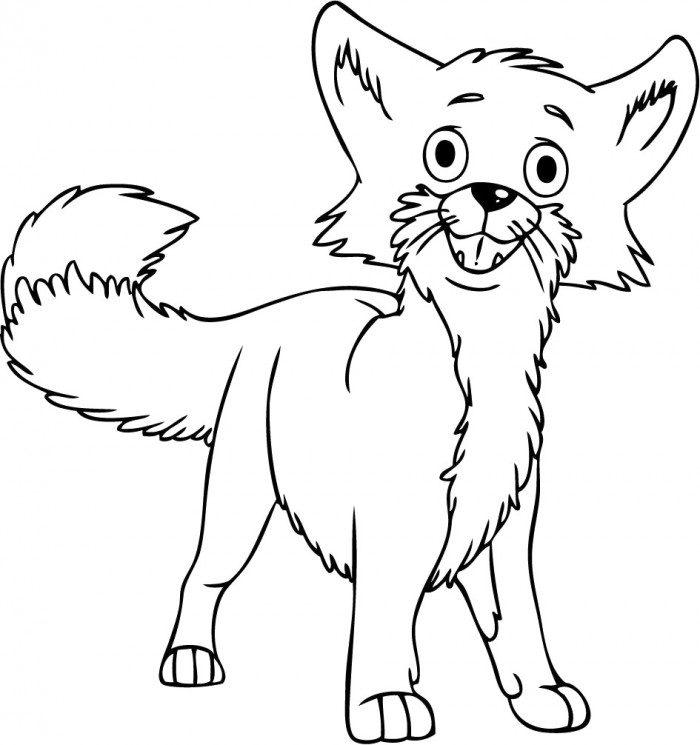 Fox Pictures For Kids Az Coloring Pages Fox Coloring Page
