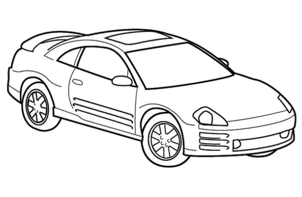 Ford Mustang GT Coloring Pages, Drawing of Famous Car Ford Mustang ... | 668x1024