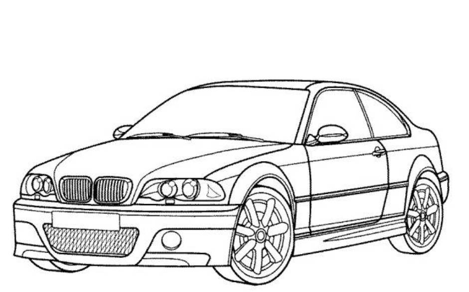 car coloring pages to print - photo#27