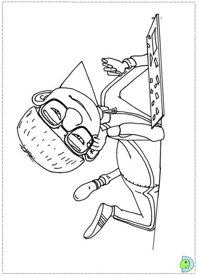 Despicable me vector coloring pages