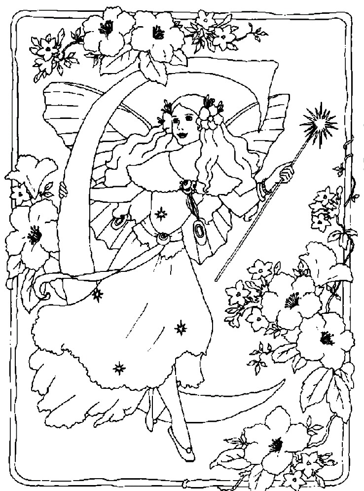 coloring pages fairytales - photo#17