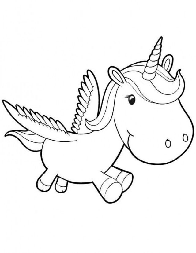 Rainbow unicorn pictures az coloring pages for Rainbow unicorn coloring pages