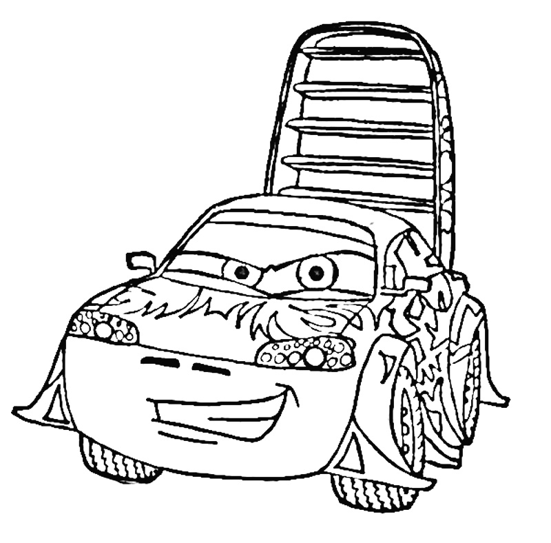 coloring pages of cars 2 - photo#18