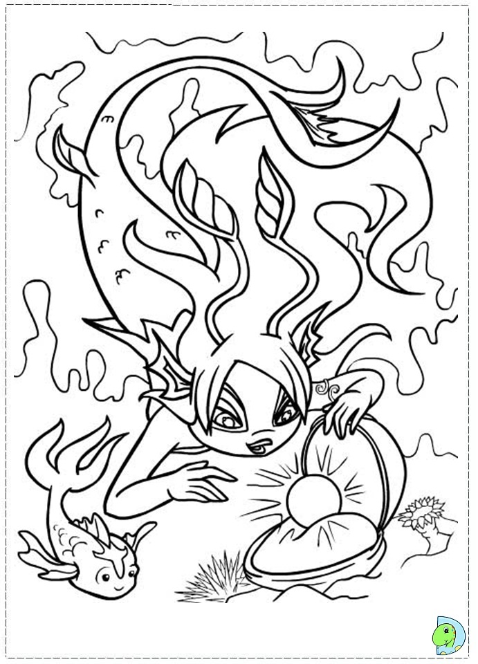 neopet faerie coloring pages - photo #41