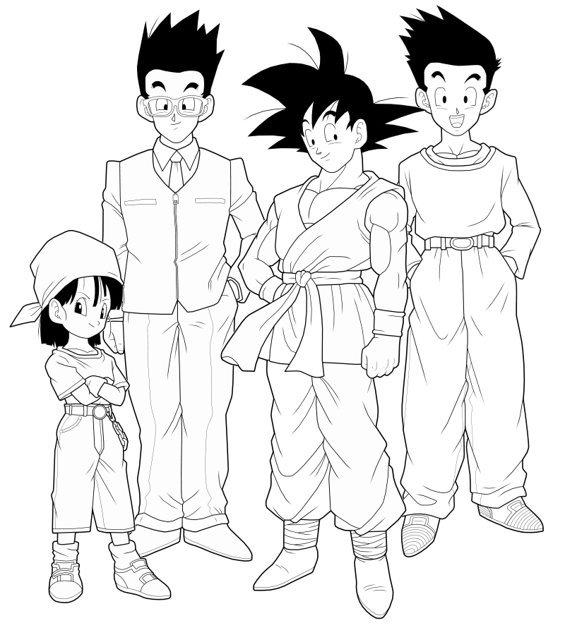 download video dbgt coloring pages - photo#36