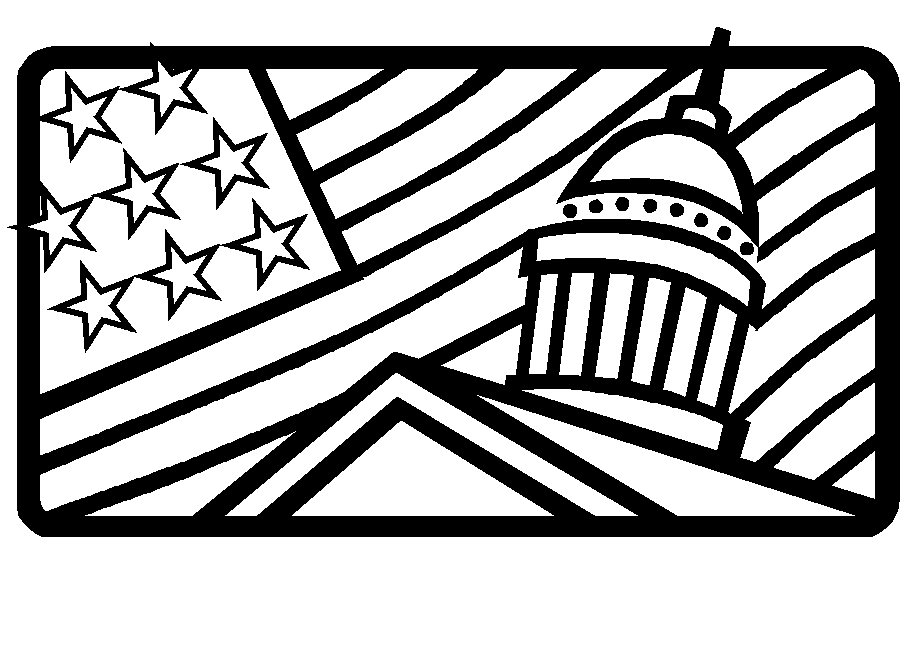 White house coloring pages coloring home for The white house coloring page