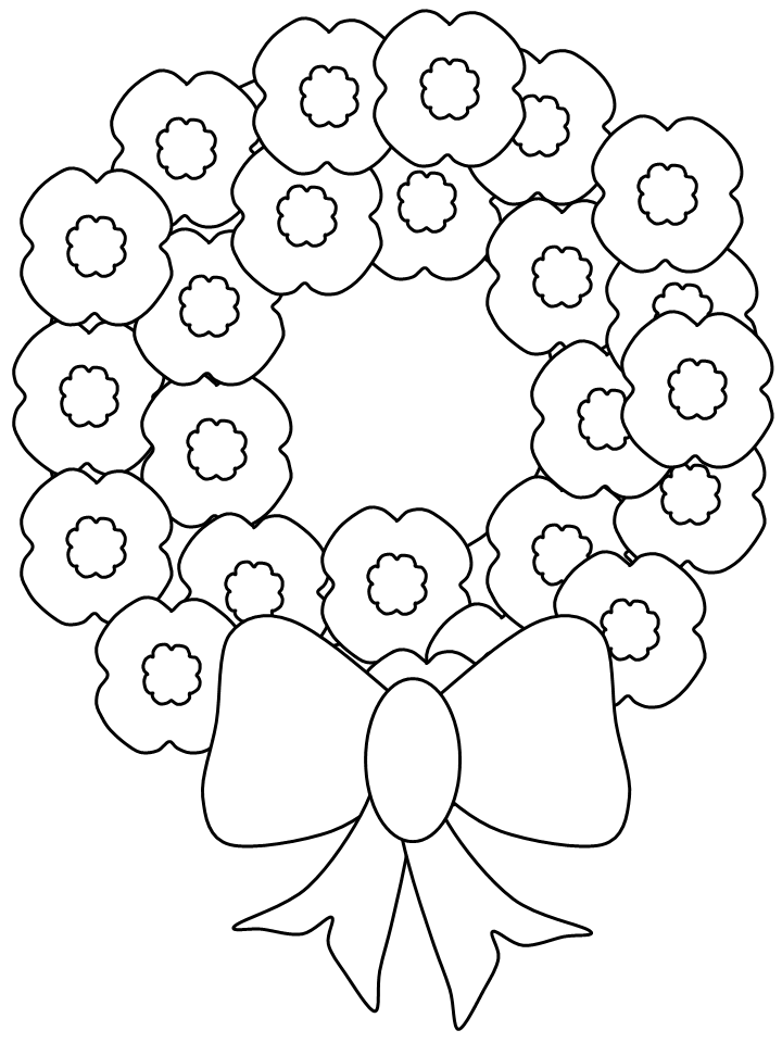 Remembrance Day Coloring Pages And Veterans For