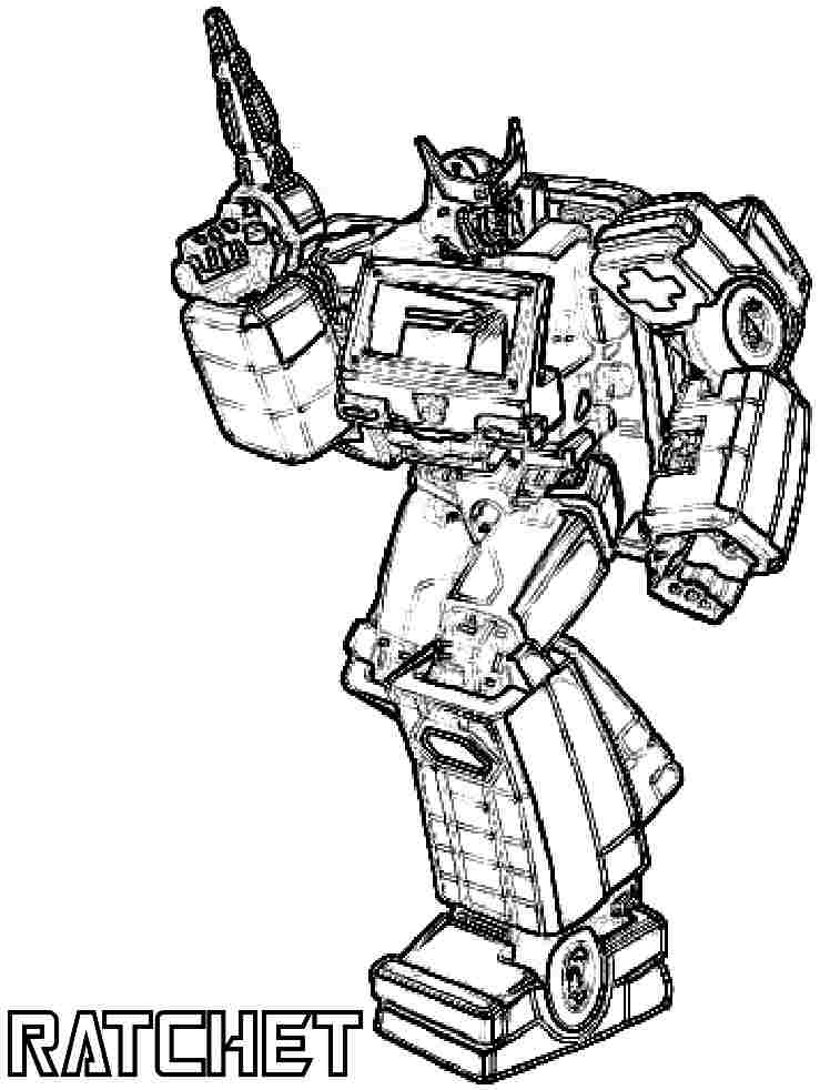 Transformers Movie Coloring Pages