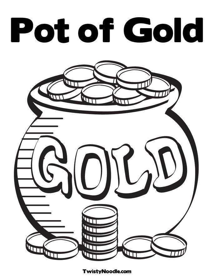 pot of gold coloring page printable pot of gold coloring pages az coloring pages