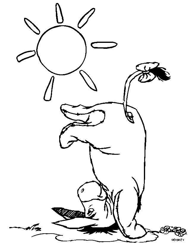 winnie the pooh and friends pictures az coloring pages