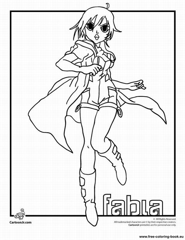 bakugan battle brawlers coloring pages - photo#13