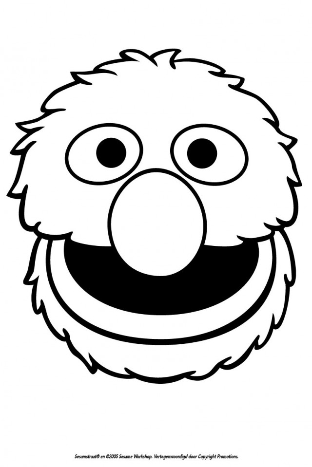Grover coloring pages az coloring pages for Grover sesame street coloring pages